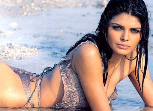 Sherlyn Chopra swimwear and bikini pictures!